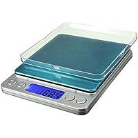 Equilibrio 500g 0.01g LCD elettronico digitale mini scala della tasca