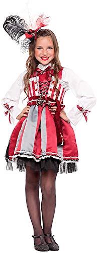 Venizano CAV56863-XXL - Kinderkostüm Angelica LA BUCANIERA - Alter: 11-12 Jahre - Größe: XXL ()
