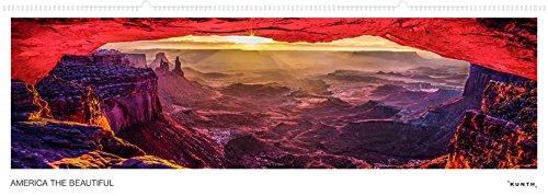 America the Beautiful - Wandkalender: Panoramaformat, immerwährend (KUNTH Wandkalender Panorama 101 x 35 cm)