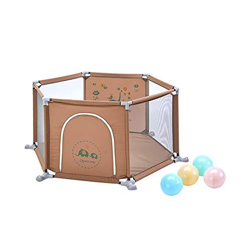 Parc de bébé de sécurité avec des Boules, Parc d'enfant d'anti-Renversement d'hexagone pour Le Centre d'activité, séparation de pièce de bébé de 67cm de Haut