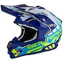 Scorpion Casco moto VX-15 EVO AIR ARGO Blu-Bianco L