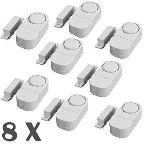 Senweit Pack of 8 Mini Alarms Ma...
