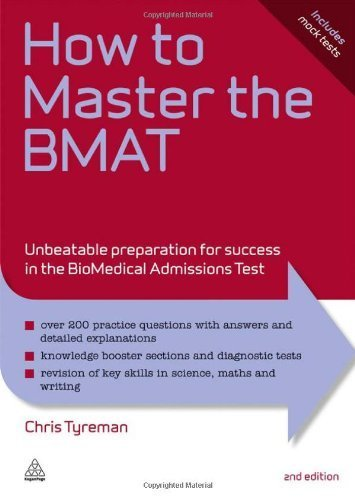 How to Master the BMAT: Unbeatable Preparation for Success in the BioMedical Admissions Test: 10 (Elite Students Series) by Tyreman, Chris John (2011) Paperback