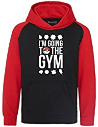 Brand88 - I'm Going To The Gym Niños Sudadera Con Capucha
