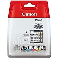 Canon PGI-580/CLI-581 5.6ml 11.2ml Nero, Ciano, Magenta, Giallo cartuccia d'inchiostro