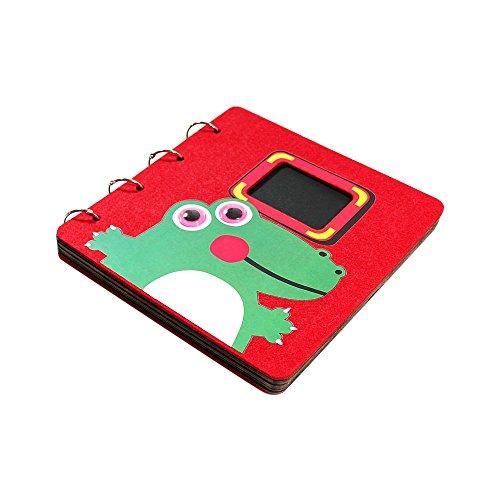 Jia HU 1 pcs DIY Album photo animaux mignons Autocollant albums Scrapbooking Cadeau de mariage crocodile