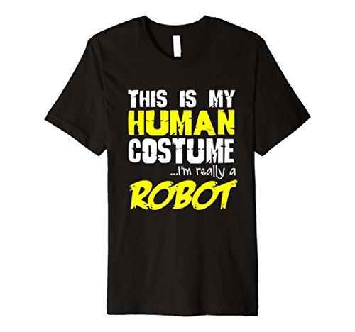 Roboter Kostüm Halloween - Funny wirklich ein Roboter T-Shirt Halloween-Kostüm