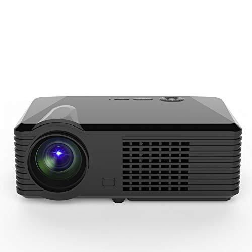 VIVIBRIGHT S200 Beamer und 280 '' Display unterstützt 3800 Lux Portable Kompatibel mit TV Stick, PS4, AV und USB