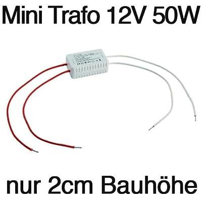 MicroSize Halogen-Trafo 230V/12V, 10-50W von ETT bei Lampenhans.de