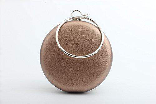 Zazero Ein großer Ring von neuen Handtasche Kette MINI MÜNZE Styling 2018, Trompete bronze (4,7 Zoll Mobiltelefon) (Bronze-trompete)
