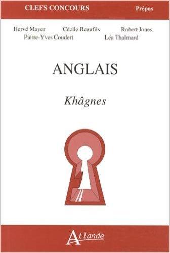 Anglais : Khgnes de Herv Mayer,Ccile Beaufils,Robert Jones ( 5 janvier 2013 )