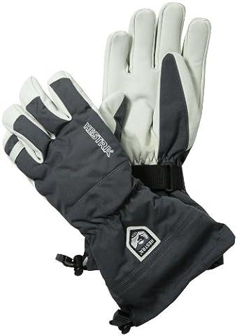 Hestra Heli Ski Glove, Grey, 8