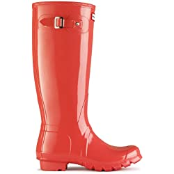 Hunter - Botas para mujer, color Naranja, talla Adults 7