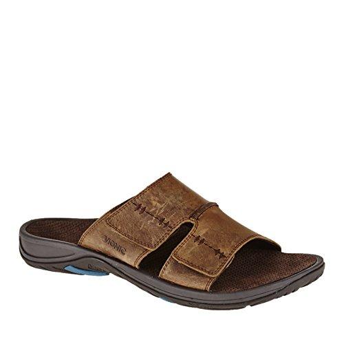 Vionic Jon Mens Slip-on Orthotic Sandal Brown - 11 Marron