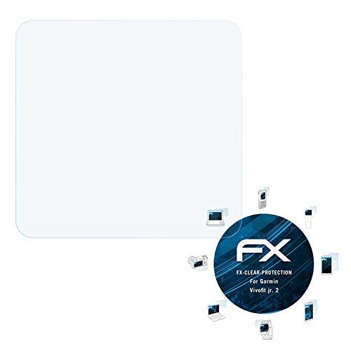 atFoliX Schutzfolie kompatibel mit Garmin Vivofit jr. 2 Folie, ultraklare FX Bildschirmschutzfolie (3X)