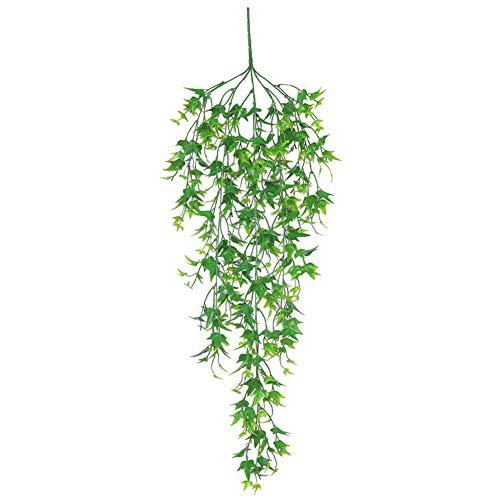 he Rattanpflanze, Rattan, Weide, zum Aufhängen, für Hochzeit, Zuhause, Grün grün ()