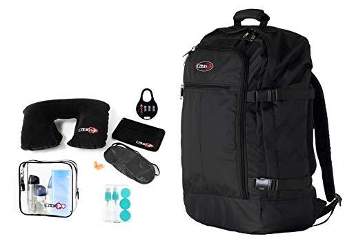 CABIN GO Rucksack cod. MAX 5540 Handgepäck/Reisekabine, 55 x 40 x 20 cm, 44 Liter zugelassener IATA-Flug/EasyJet / Ryanair