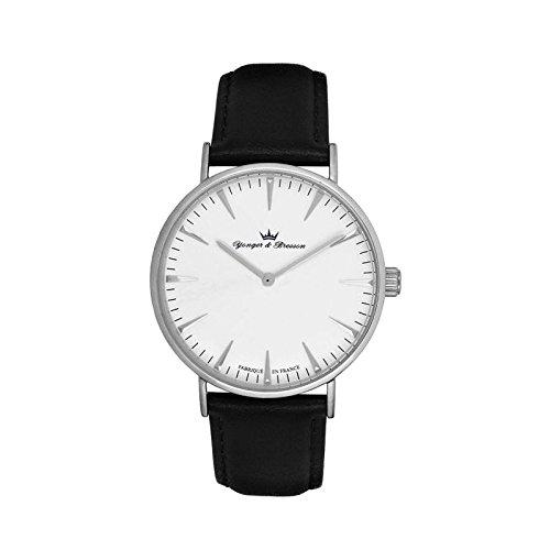 Orologio uomo Yonger & Bresson bianca e nera–HCC 075-ba