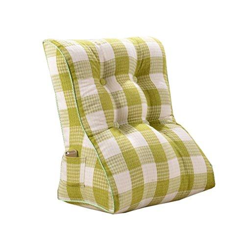 Cuscino del letto soffitto triangolo a letto comodino grandi cuscini/ampie cuscini imbottitura lombare cuscino lungo e cuscino vita e lettino grandi retro plaid pattern per relax e supporto