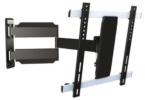 RICOO Support TV Mural orientable inclinable S0544 Meuble de téléviseur suspendu PC Plasma Smart OLED incurvé fixation murale télé LED LCD 3D max VESA 400x400 universel toutes marques televiseur