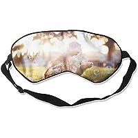 Eye Mask Eyeshade Dog Bubble Sleep Mask Blindfold Eyepatch Adjustable Head Strap preisvergleich bei billige-tabletten.eu