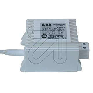 ABB Stotz S&J Sicherheits-Trafo Si-TR300-230/12Lv 300W 230/11,5V Trafo für NV-Lichtsystem/NV-Halogenlampe 4013232197406