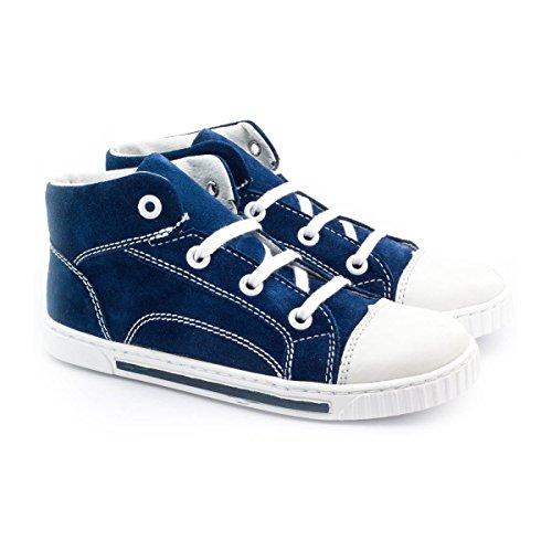 Boni Fun, chaussures enfant en cuir à lacets