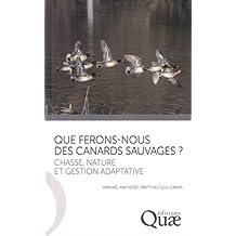 Que ferons-nous des canards sauvages ?: Chasse, nature et gestion adaptative.