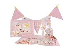 Hallmark Baby Girl Kit de premier anniversaire Le petit Pays des merveilles