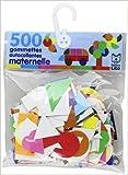 500 gommettes autocollantes maternelle - De 3 à 5 ans de Lito ( 30 décembre 1999 ) - Lito (30 décembre 1999) - 30/12/1999