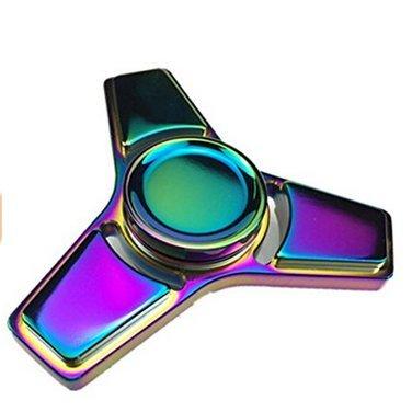 ZHOKE colorate in alluminio lega mano Spinner agitarsi giocattolo Stress riduttore