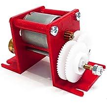 Outletdelocio Reductora Multiple con Motor. Voltaje 1.5-6 voltios. Salida poleas, Engranaje