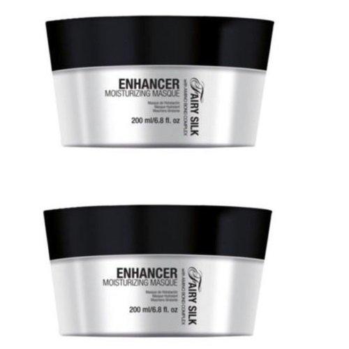 Maschera per capelli effetto anticrespo 400 ml con cheratina e amminoacidi del collagene Nika fairy silk enhancer moisturizing masque DUO PACK 2 x 200ml PROMOZIONE SPEDIZIONE GRATUITA