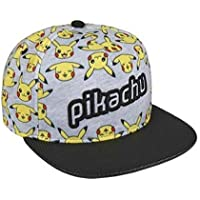 Cerdá Plana Pikachu Gorra de Tenis, Niños, Gris, 52-58 cm