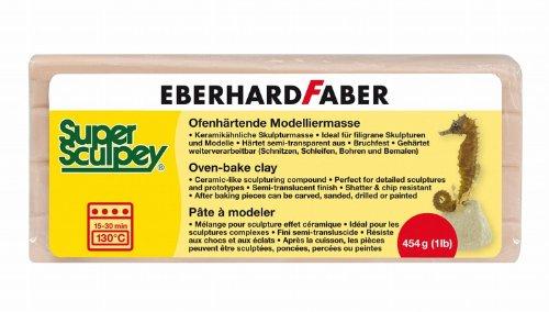 Eberhard Faber 571290 - Super Sculpey beige, 454 g