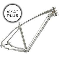 """RIDEWILL BIKE MTB marco aluminio 27.5""""plus PP12mm 1–1/81.5"""" BSA tamaño 40(MTB)/MTB marco 27,5Plus Thru Eje 12mm Alu 1–1/8""""1,5"""" BSA Szie 40(MTB)"""