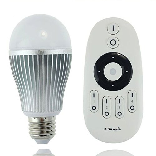 LIGHTEU, 9W E27 dual white WiFi Remote Control LED Light Bulb - Dual White Dimmable with a wifi remote