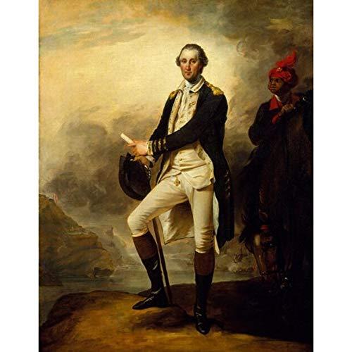 MAIYOUWENG Puzzle 1000 Teile George Washington Porträt Replik 1000 Teile Puzzles Erwachsene Wohnkultur Sammlerstücke Geschenke