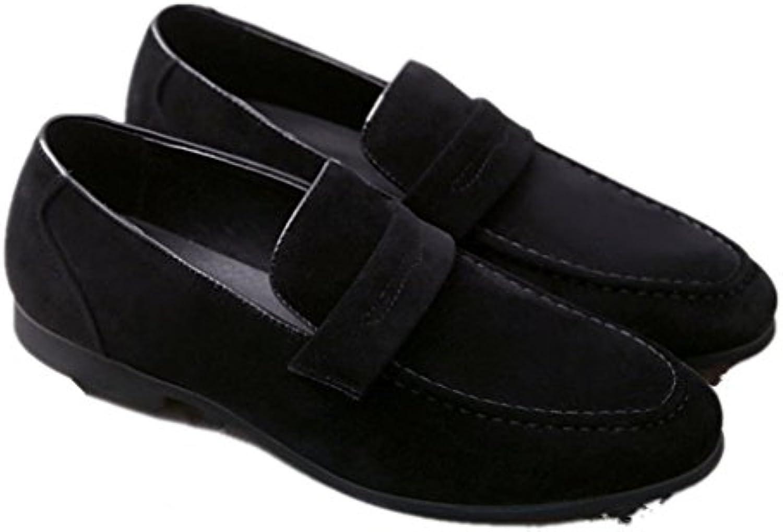 Bebete5858 Extra particulièrement Grande taille 48 Mode Grande Chaussures  taille Cuir Bateau. Chaussures Grande Slip on décontracté... 1e207b 4c33cc3cc64a