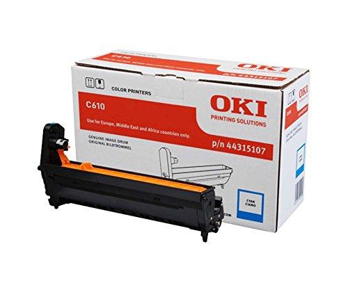 Preisvergleich Produktbild OKI 44315107 C610 Trommelkartusche 20.000 Seiten, cyan