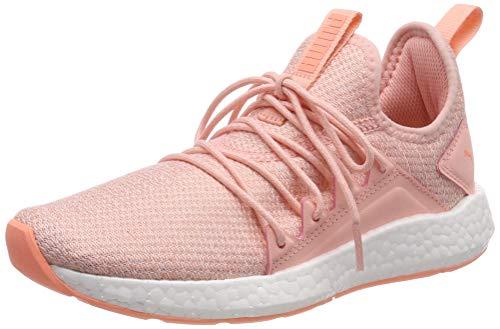 Puma NRGY Neko Knit Jr, Unisex-Kinder Sneakers, Pink (Peach Bud-Puma White-Bright Peach), 35.5 EU - Peach Knit Top