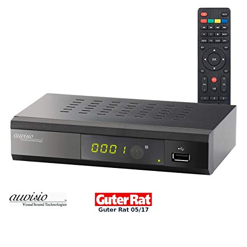 auvisio DVB C Receiver: Digitaler DVB-C-Kabelreceiver DCR-100.fhd, Full HD (DVB-C2-Kabelreceiver) - Mkv Mp4 Konverter