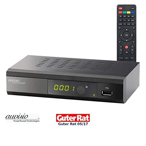 auvisio DVB C Receiver: Digitaler DVB-C-Kabelreceiver DCR-100.fhd, Full HD (DVB C2 Kabelreceiver)