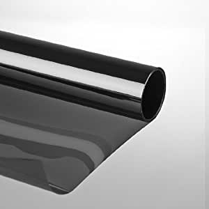 led gigant film de protection solaire autocollant et anti rayures noir 75 x 300 cm. Black Bedroom Furniture Sets. Home Design Ideas