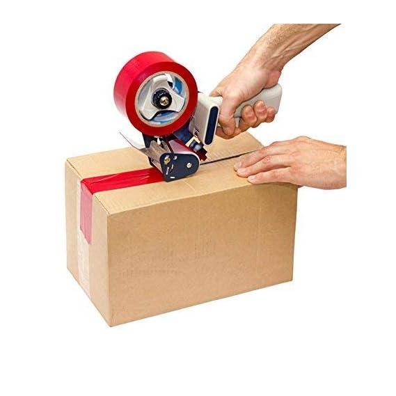 Aadvay Enterprises Ikon Plastic Hand Operated Manual Tape Dispenser, 3 inch