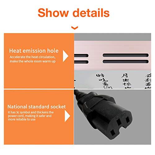 HL Infrarot-Konvektionsheizung Fresko Heimtextilien Gebläse eignet Sich  die Bild 5*