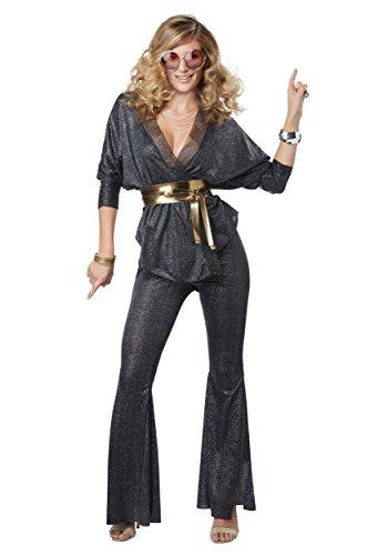 Womens Disco Dazzler Fancy dress costume Large (Dazzler Kostüm)