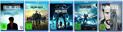 Blu-ray Set * Falling Skies - Staffel/Season 1+2+3+4+5