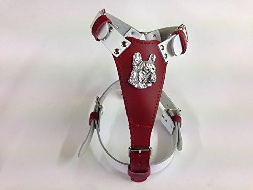 nicks-leather-pet-products-harnais-en-cuir-pour-chien-deux-tons-taille-m-motif-tete-de-bouledogue-fr