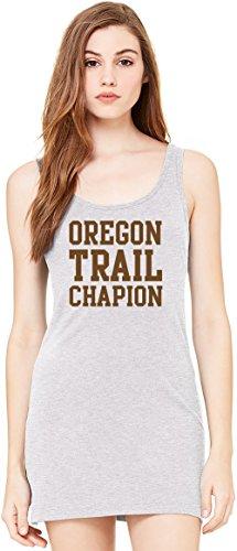 n Funny Slogan Bella Basic ärmellose Tunika Sleeveless Tunic Tank Dress For Women  100% Premium Cotton  X-Large (Oregon Uniform)